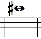 Saxophone Finger Chart C#