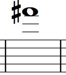 Saxophone Finger Chart F#