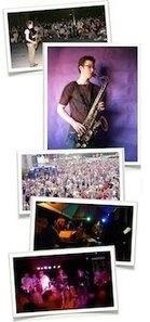 playing saxophone - Neal
