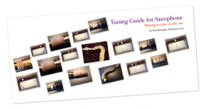 saxophone tuning guide