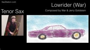 tenor sax lowrider