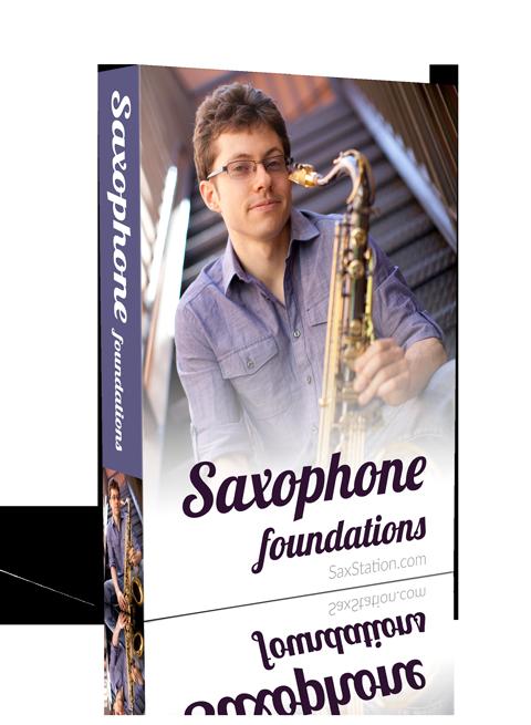 Saxophone Foundations Product Box