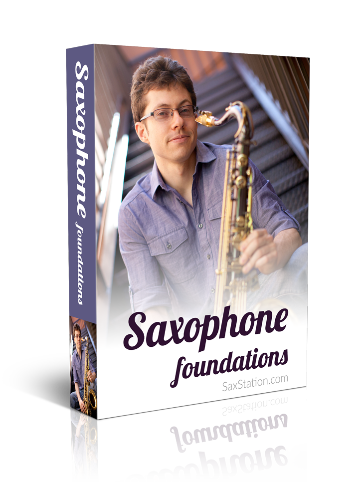 Saxophone Foundations Product Box